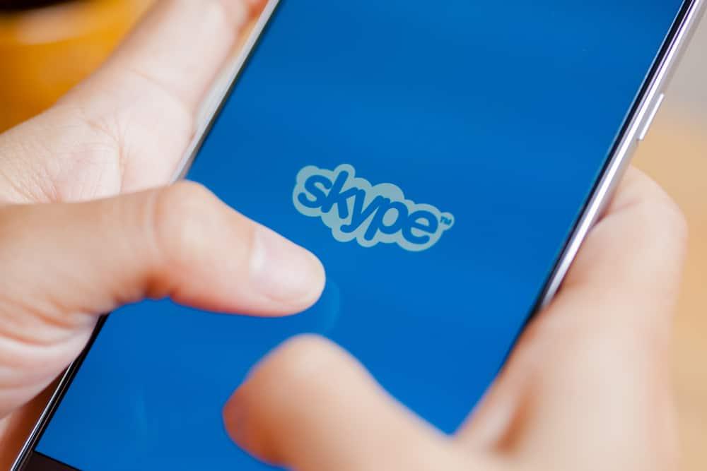 skype on phone