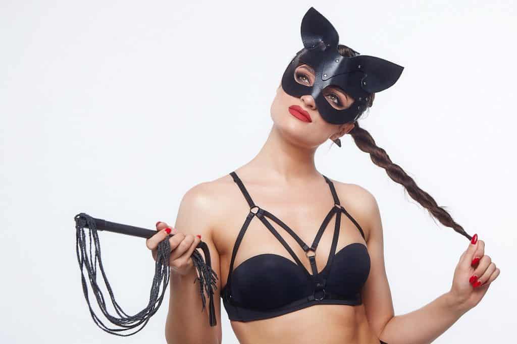bdsm cat mask woman