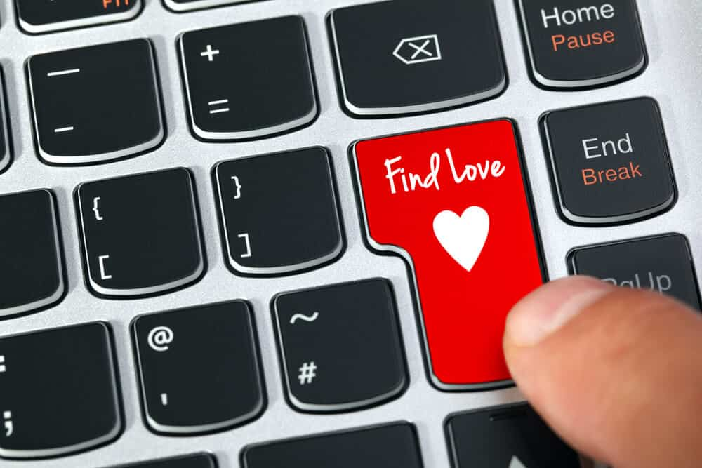 online dating keyboard