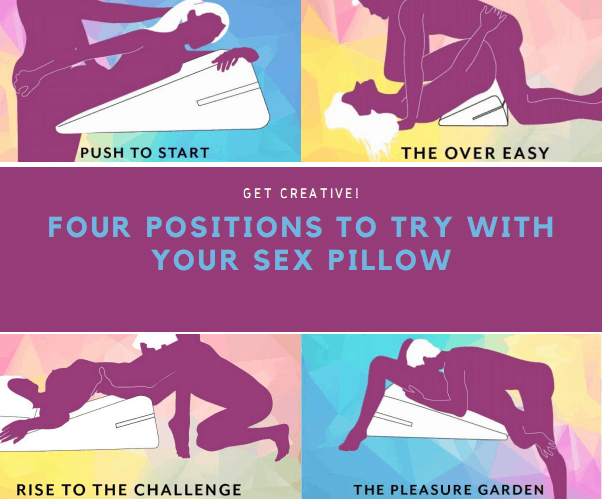 Four positions to try with your adult pillow